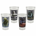 Star Wars 4 piece 16 oz. Glass Set