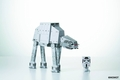 Star Wars At-At With Driver Momot Papercraft Figure pre-order