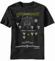 Star Wars Bit Wars t-shirt men Black pre-order