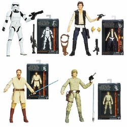 Star Wars Black 6-In Series 3  Action Figure Asst 201401