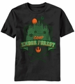Star Wars Camp Endor t-shirt men Black pre-order