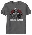 Star Wars Choking Hazard Darth Vader t-shirt men Charcoal pre-order