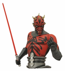 Star Wars Clone Wars Darth Maul Bust Bank pre-order