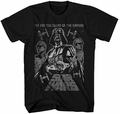 Star Wars Darth Vader Fly or Die t-shirt men black pre-order