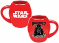 Star Wars Darth Vader Humbug 18 oz. Oval Ceramic Mug pre-order