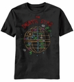 Star Wars Death Star Sketch t-shirt men Black pre-order