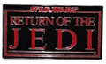 Star Wars Return of the Jedi Back belt buckle