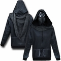 Star Wars Episode VII The Force Awakens Kylo Ren Costume mens hoodie