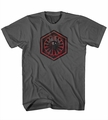 Star Wars Episode VII The Force Awakens The New Fear First Order Symbol mens t-shirt