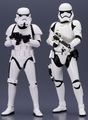Star Wars First Order & Classic Stormtrooper ArtFX+ two pack The Force Awakens