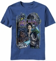 Star Wars Galactax t-shirt men light navy pre-order