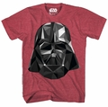 Star Wars Geovader Red Heather T-Shirt pre-order