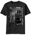 Star Wars Get In Line Darth Vader Stormtroopers t-shirt men Black pre-order