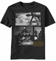 Star Wars Grey Battle Darth Vader AT-AT t-shirt men Black pre-order