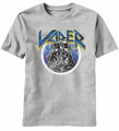 Star Wars Hair Darth Vader t-shirt men Heather grey pre-order