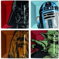 Star Wars Iconic Character Graphics 4-Piece Plate Set pre-order