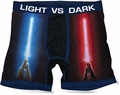 Star Wars Light Vs Dark Lightsabers mens boxer briefs