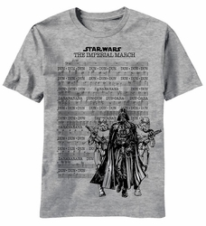 Star Wars March Street t-shirt men heather