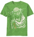 Star Wars Master Force Yoda t-shirt men Shamrock Heather pre-order