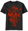 Star Wars Maul Stencil t-shirt men Black pre-order