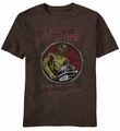 Star Wars Metal Rules C-3PO R2-D2 t-shirt men Mocha Heather pre-order