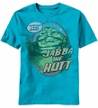 Star Wars Mind Powers Jabba the Hutt t-shirt men Turquoise Heather pre-order