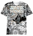 Star Wars Page War AOP All Over Print t-shirt men White pre-order