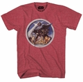 Star Wars Porthole Red Heather T-Shirt