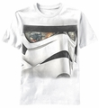 Star Wars Reflected Face Darth Vader Stormtrooper t-shirt men White pre-order