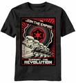Star Wars Revolution Empire t-shirt men Black pre-order