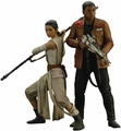 Star Wars Rey and Finn ArtFX Statue pre-order