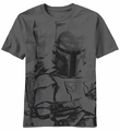 Star Wars Sarlacc Bait Boba Fett t-shirt men Charcoal pre-order