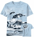 Star Wars Snow Drift t-shirt men Carolina Blue pre-order