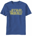 Star Wars Star Logo t-shirt men Light Navy pre-order