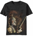 Star Wars The Bounty Hunter t-shirt men Black pre-order