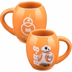 Star Wars The Force Awakens BB-8 18 oz. Oval Ceramic Mug pre-order