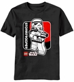 Star Wars Trooper Box Lego Stormtrooper t-shirt men Black