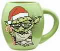 Star Wars Yoda Holiday 18 oz. Oval Ceramic Mug pre-order