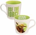 Star Wars Yoda Use the Force 12 oz Ceramic Mug pre-order
