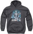 Suicide Squad youth teen hoodie ain't none better charcoal