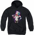 Suicide Squad youth teen hoodie bubble black