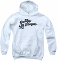 Suicide Squad youth teen hoodie daddys lil monster white