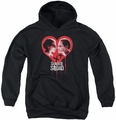 Suicide Squad youth teen hoodie joker spits game black