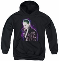 Suicide Squad youth teen hoodie joker stare black