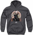Suicide Squad youth teen hoodie rick flagg bullets charcoal