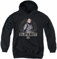 Suicide Squad youth teen hoodie slipknot rope black