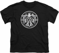 Supergirl youth teen t-shirt DEO black