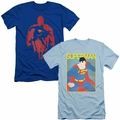 Superman mens slim-fit t-shirt