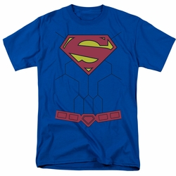Superman t-shirt costume mens