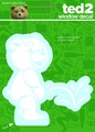Ted 2 Peeing Ted Vinyl Decal pre-order